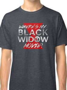 Black Widow Movie Classic T-Shirt