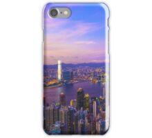 Hong Kong sunset iPhone Case/Skin