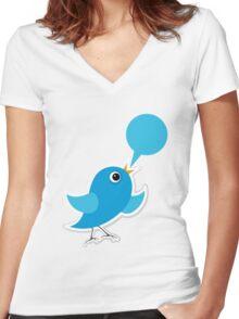 Birdie Women's Fitted V-Neck T-Shirt