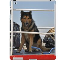 Guard dog iPad Case/Skin