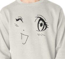 Winking Manga Pullover