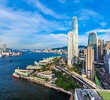 Hong Kong modern scene by kawing921
