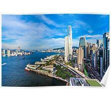 Hong Kong modern scene Poster