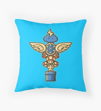 Kart Totem Throw Pillow