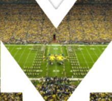 University of Michigan- M Sticker