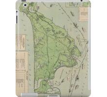 Vintage Map of Marthas Vineyard (1913) iPad Case/Skin