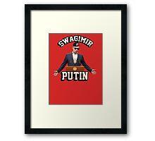 Swagimir Putin Framed Print