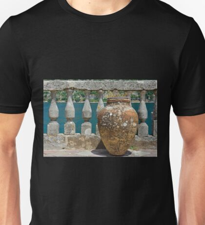 Vase on Our Lady of the Rock Unisex T-Shirt