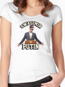 Swagimir Putin Women's Fitted Scoop T-Shirt