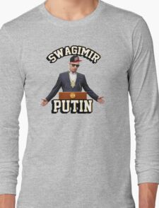 Swagimir Putin Long Sleeve T-Shirt