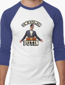 Swagimir Putin Men's Baseball ¾ T-Shirt