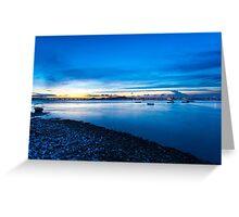 Coastal landscape  Greeting Card