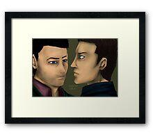 Solummodo - Castiel Dean Framed Print
