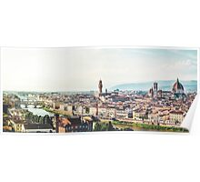 Florence city - Italy Poster