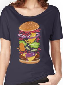 Cat Burger Women's Relaxed Fit T-Shirt