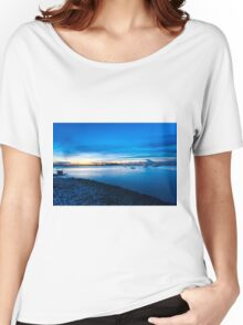Coastal landscape  Women's Relaxed Fit T-Shirt