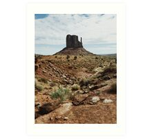 Monument Valley Southwest USA Art Print
