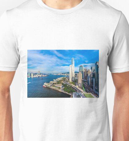 Hong Kong modern scene Unisex T-Shirt