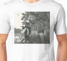 The snake charmer Unisex T-Shirt