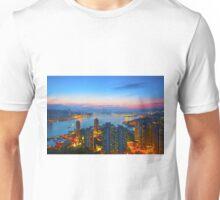 Hong Kong sunset Unisex T-Shirt