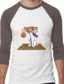 Little Cerberus wants to go for a walk Men's Baseball ¾ T-Shirt
