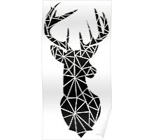 Tumblr Design  Geometric Deer Poster