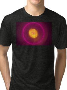 Magenta Eclipse Tri-blend T-Shirt