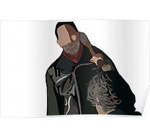 Negan The Walking Dead  Poster