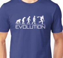 Evolution of Man - Bowling Unisex T-Shirt