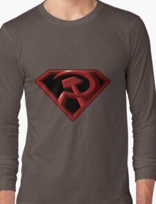 Superman - Red Son Logo Long Sleeve T-Shirt