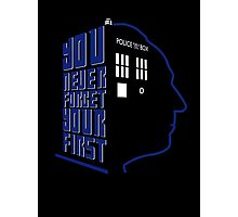 You Never Forget Your First - Doctor Who 1 William Hartnell Photographic Print
