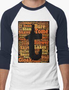 Tuam Slang Words (Daily) Men's Baseball ¾ T-Shirt