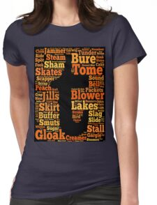 Tuam Slang Words (Daily) Womens Fitted T-Shirt