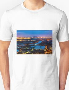 Sunset ponds Unisex T-Shirt
