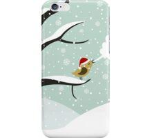 Christmas bird iPhone Case/Skin