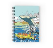 Jumping Whale Spiral Notebook