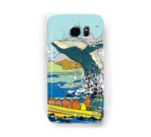 Jumping Whale Samsung Galaxy Case/Skin