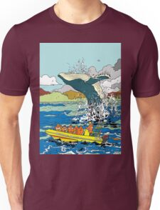Jumping Whale Unisex T-Shirt