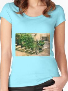 Greener Transport Women's Fitted Scoop T-Shirt
