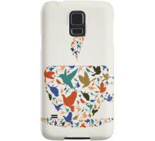 Cup a bird Samsung Galaxy Case/Skin