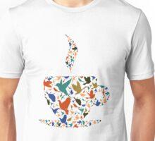Cup a bird Unisex T-Shirt