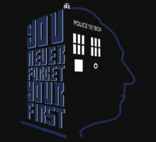 You Never Forget Your First - Doctor Who 1 William Hartnell Baby Tee