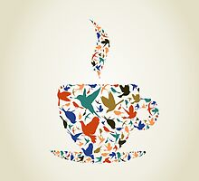 Cup a bird by Aleksander1