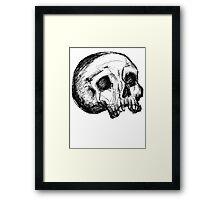 Skull of the Dead Framed Print