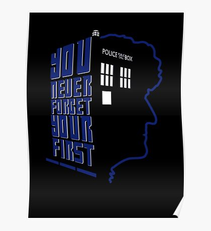 You Never Forget Your First - Doctor Who 3 Jon Pertwee Poster