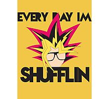 Every Day I'm Shufflin' Photographic Print