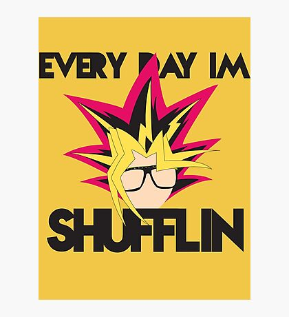Every Day I'm Shufflin' Photographic Print
