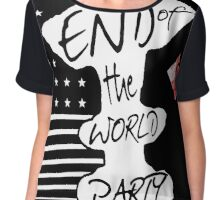 END of the WORLD PARTY II Chiffon Top