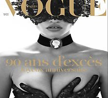 Kate moss - VOGUE Paris by sophietask