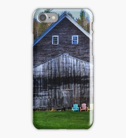 Barns and Chairs 3 Each iPhone Case/Skin